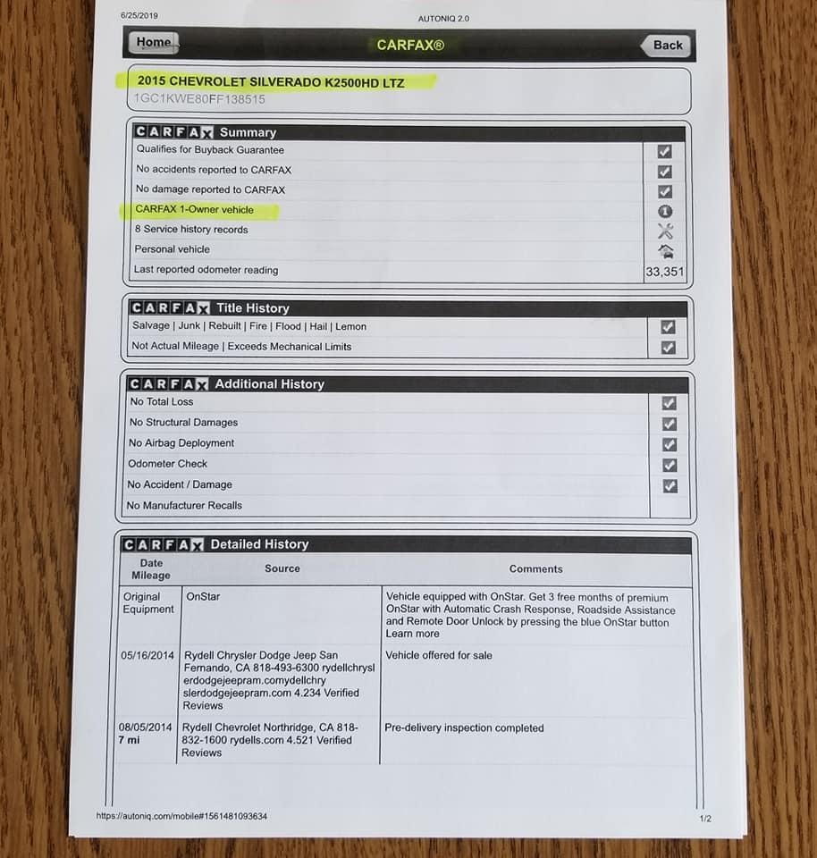 2015 Chevy Silverado LTZ 2500 – Ashmore Motors, Inc